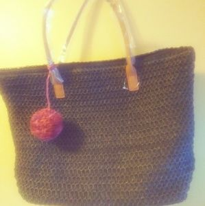 Merona straw bag